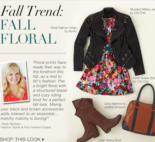 Reah Norman- fall plus size fashion trends