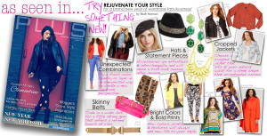 PLUS Model Magazine Executive Fashion Director and plus size fashion expert Reah Norman shares plus size fashion trends and styling tips to rejuvenate your style in the January issue of PLUS Model Magazine.