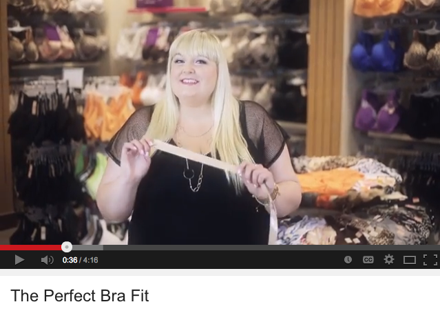 {video & giveaway} Finding the Perfect Bra Fit