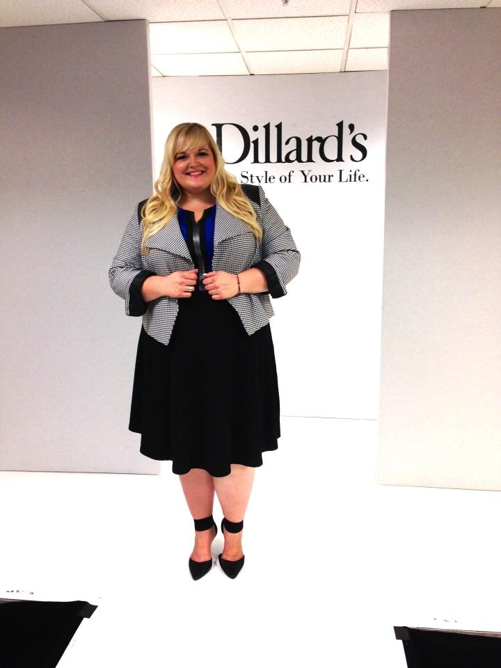 Reah Norman plus size fashion Dillards
