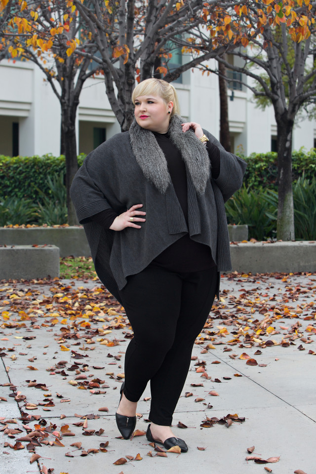 Reah Norman- winter plus size fashion