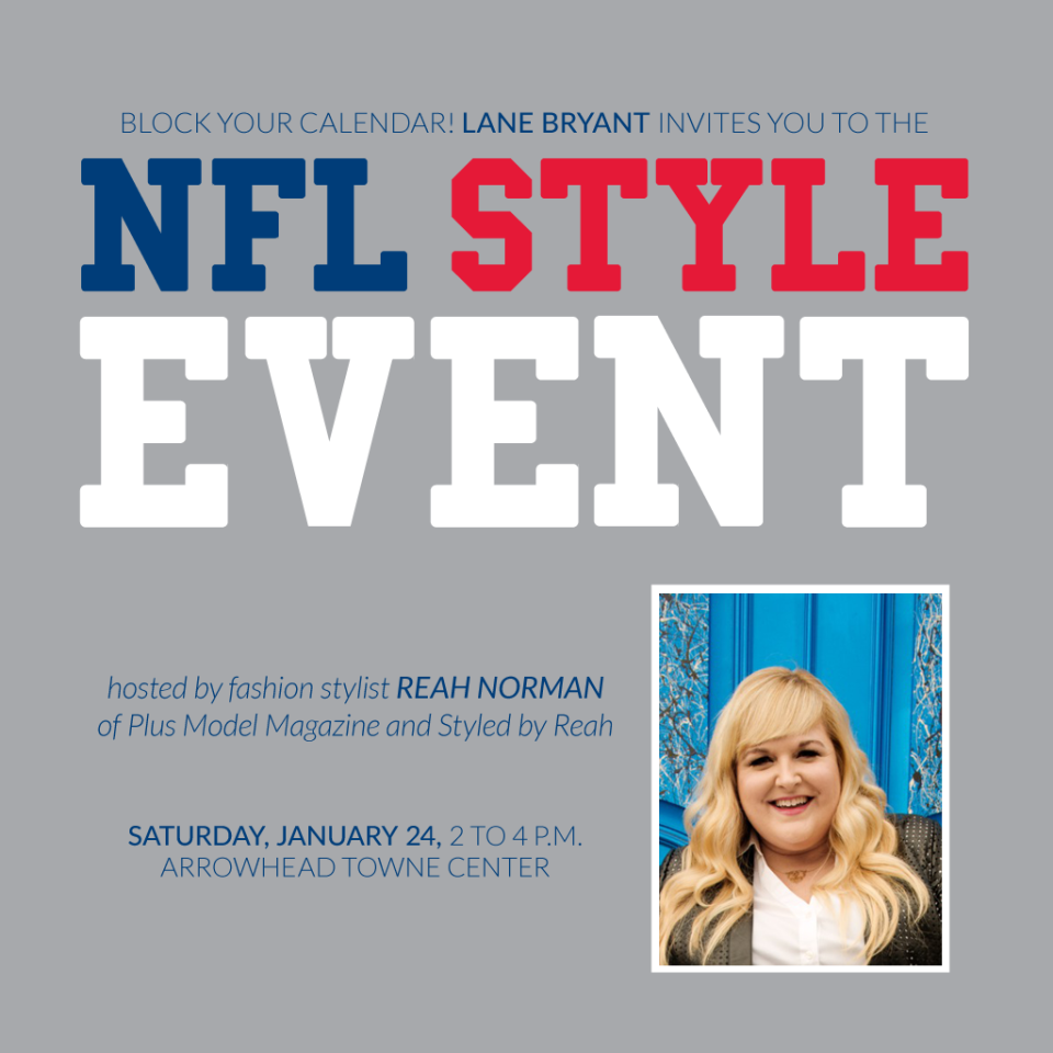 Lane Bryant NFL Style Event with Reah Norman