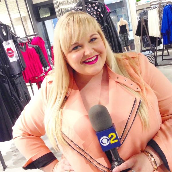 New Plus Size Fashion Segment with CBS 2 LA