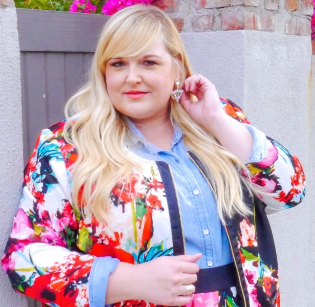 Two Ways to Wear Plus Size Spring Florals