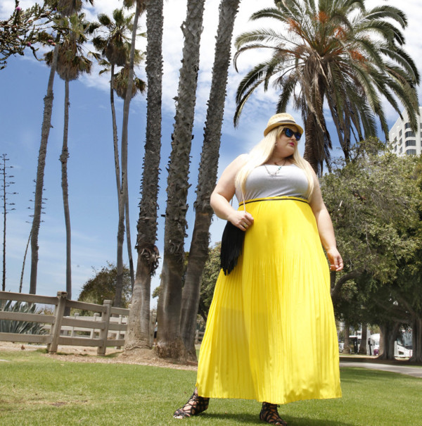 The Perfect Plus Size Maxi Dress