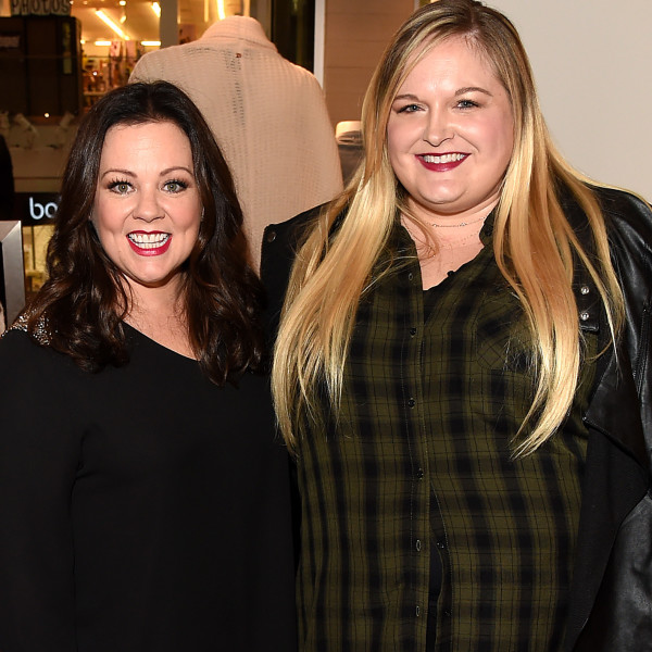 CULVER CITY, CA - NOVEMBER 12:  Melissa McCarthy and blogger Reah Norman attend the debut of Melissa McCarthy's Seven7 holiday collection at Lane Bryant on November 12, 2015 in Culver City, California  (Photo by Jason Merritt/Getty Images for Lane Bryant)