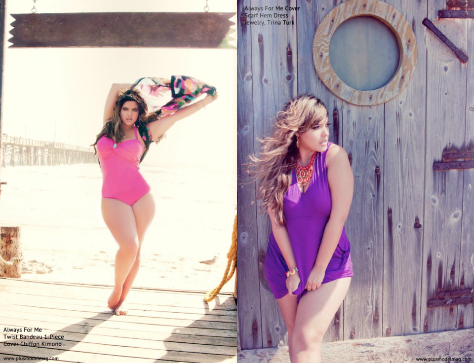 Denise Bidot for PLUS Model Magazine / Inez Lewis Photography