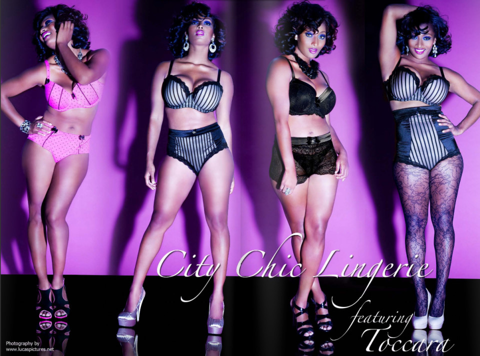 Toccara for PLUS Model Magazine / Photograph by Lucas Pictures