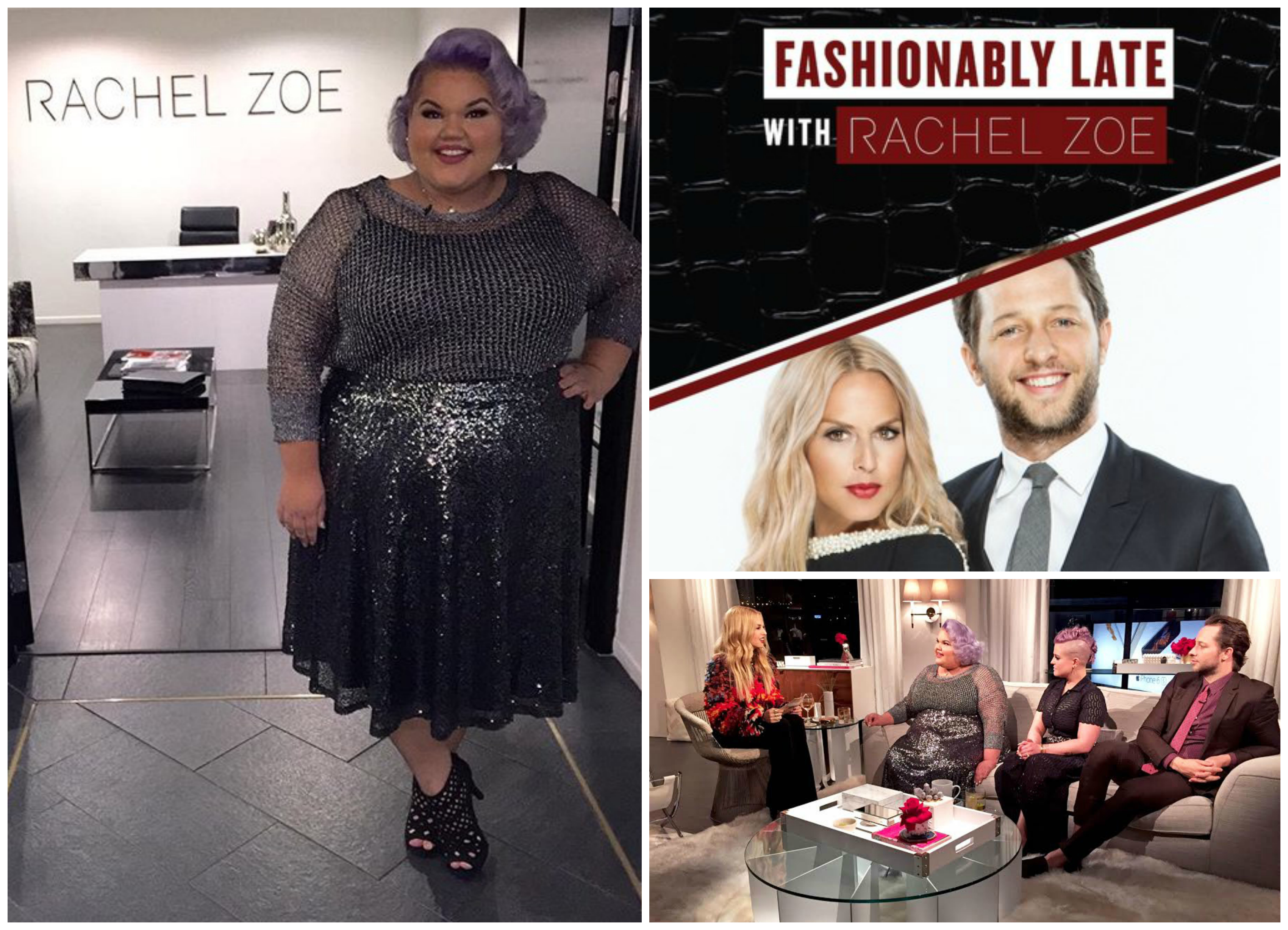 Ashley Nell Tipton / Fashionably Late with Rachel Zoe