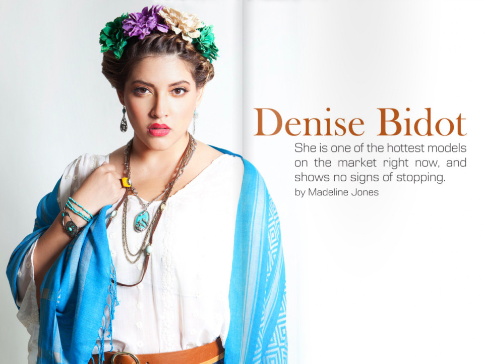 Denise Bidot for PLUS Model Magazine / Photograph by Anthony Evans
