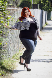 Tess Holliday / Photograph by Michelle Alexandra