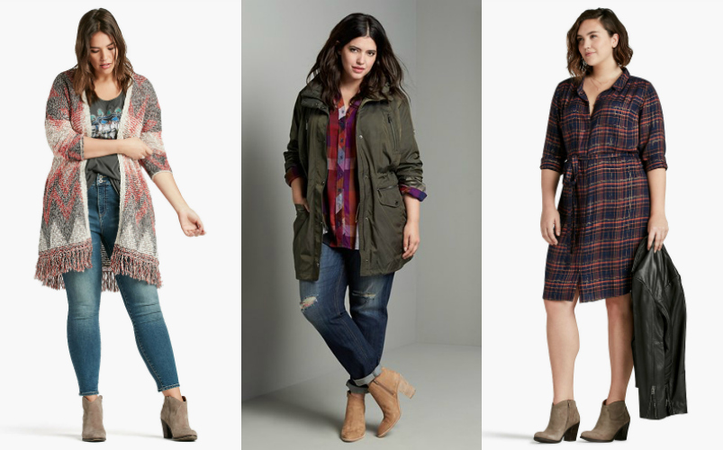 Fall Plus Size Fashion Trends / www.styledbyreah.com