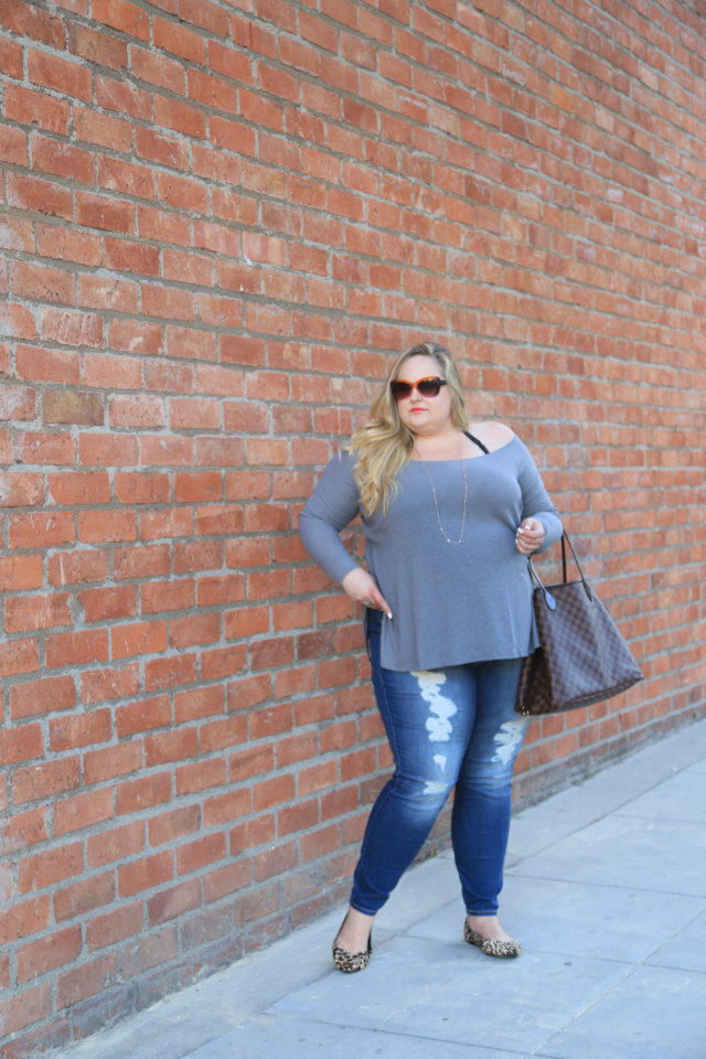 Reah Norman-plus size fashion-plus size denim | www.styledbyreah.com