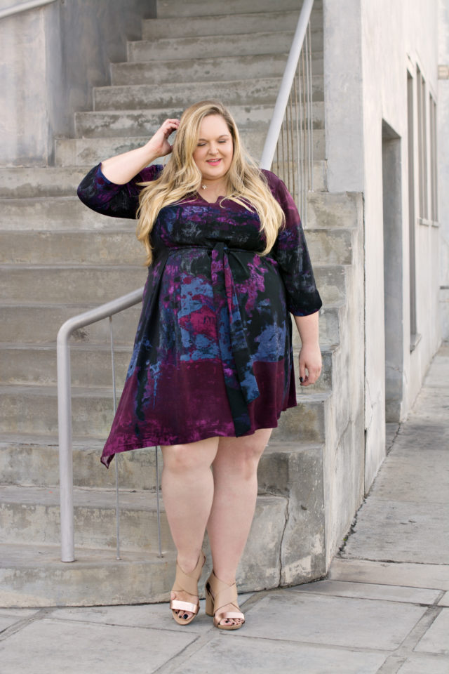 Fashion Expert Reah Norman wearing Rachel Roy Curvy Collection | www.styledbyreah.com